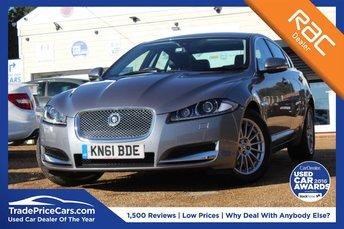 2011 JAGUAR XF 2.2 D LUXURY 4d AUTO 190 BHP £10450.00