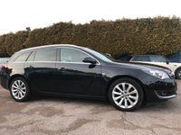 USED 2015 65 VAUXHALL INSIGNIA 1.6 CDTI ELITE NAV ESTATE ECOFLEX S/S 5d SAT NAV, LEATHER INTERIOR AND SERVICE HISTORY  NO DEPOSIT  PCP/HP FINANCE ARRANGED, APPLY HERE NOW