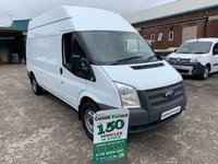 2013 FORD TRANSIT 2.2 125BHP T350 1 OWNER FROM NEW 6 MONTHS RAC WARRANTY £5395.00