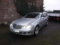 2009 MERCEDES-BENZ E-CLASS 3.0 E320 CDI ELEGANCE 4d AUTO 222 BHP, Part exchange to clear £3750.00