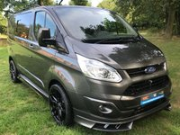 "USED 2016 65 FORD TRANSIT CUSTOM 2.2 270 LIMITED 5d 125BHP DBL CAB CREW VAN NEW RS STYLING KIT 20"" ALLOYS REAR REMOVABLE FOLDING SEATS RAC WARRANTY CALL TO RESERVE NOW 0161 338 8787"