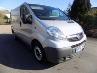 USED 2014 14 VAUXHALL VIVARO 2.0 2700 CDTI ECOFLEX 1d 89 BHP ***Nationwide Delivery Available***