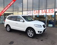 USED 2010 10 HYUNDAI SANTA FE 2.2 PREMIUM CRDI 5d 194 BHP NO DEPOSIT AVAILABLE, DRIVE AWAY TODAY!!