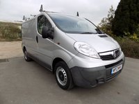USED 2013 13 VAUXHALL VIVARO 2.0 2700 CDTI ECOFLEX 1d 89 BHP ***Nationwide Delivery Available***