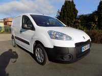 USED 2014 64 PEUGEOT PARTNER 1.6 HDI S L1 850 1d 89 BHP ***Nationwide Delivery Available***