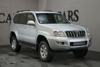 USED 2006 TOYOTA LAND CRUISER 3.0 LC5 8-SEATS D-4D 5d 164 BHP