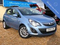 2013 VAUXHALL CORSA 1.4 SE 5d AUTO 98 BHP £6995.00