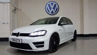 USED 2014 14 VOLKSWAGEN GOLF 2.0 R DSG 5d AUTO 298 BHP Pearl White/19 In Alloys/Miltech Exhaust/Park Sensors