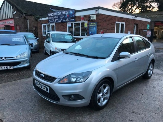 2009 59 FORD FOCUS 1.6 (100ps) Zetec Hatchback 5d 1596cc