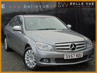 USED 2007 57 MERCEDES-BENZ C-CLASS 2.1 C200 CDI ELEGANCE 4d 135 BHP *ONLY 64K MILES, DETACHABLE TOW BAR, MUST SEE*