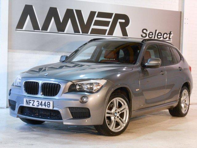 2012 12 BMW X1 2.0 XDRIVE20D M SPORT 5d AUTO 174 BHP