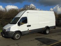 2011 IVECO DAILY 70C17V 3.0TD  170 BHP LWB HIGH ROOF TWIN WHEEL PANEL VAN (7TONNE) £6950.00