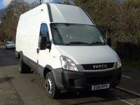 USED 2011 61 IVECO DAILY 70C17V 3.0TD  170 BHP LWB HIGH ROOF TWIN WHEEL PANEL VAN (7TONNE) MAY 2019 TEST+FINANCE REPO+7T