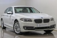 2015 BMW 5 SERIES 2.0 520D LUXURY 4d AUTO 188 BHP £17490.00