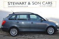 USED 2011 61 SKODA FABIA 1.6 ELEGANCE TDI CR 5d 103 BHP The service history is excellent on the Skoda, serviced 2012 at 4,743 miles, 2013 at 8,090 miles, 2014 at 11,869 miles, 2015 at 20,422 miles, 2016 at 30,958 miles, 2017 at 39,974 miles, 2018 at 49,926 miles and the January 2019 at 60,317 miles, the Timing Belt and Water Pump was done all so 2016 at 32,190 miles.  You can reserve the car before you come with a £100 refundable deposit to secure it if you wish.  You can contact us on 01912517532 or 01912515027 and ask for Adam or Billy.