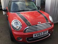 2013 MINI HATCH COOPER 1.6 COOPER D 3d 112 BHP £6000.00