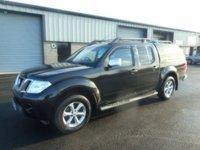 2011 NISSAN NAVARA 2.5 DCI TEKNA 4X4 DCB 1d AUTO 188 BHP SAT NAV LEATHER SNUG  TOP NO VAT £9991.00