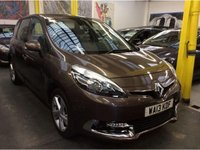 2013 RENAULT SCENIC 1.5 DYNAMIQUE TOMTOM DCI 5d 110 BHP £7500.00