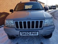 USED 2002 02 JEEP GRAND CHEROKEE 2.7 LIMITED CRD 5d AUTO 161 BHP