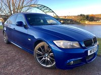 USED 2010 10 BMW 3 SERIES 2.0 318D M SPORT BUSINESS EDITION 4d 141 BHP **PRO SAT NAV, FULL HEATED LEATHER INTERIOR**