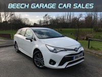 2016 TOYOTA AVENSIS 2.0 D-4D BUSINESS EDITION 5d 141 BHP £8990.00
