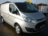 2016 FORD TRANSIT CUSTOM 2.2 270 LIMITED L1H1  124 BHP Air con Bluetooth and more