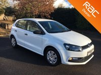 USED 2015 15 VOLKSWAGEN POLO 1.0 S AC 5d 60 BHP Cheap To Tax!!  Touchscreen Radio, DAB, Bluetooth