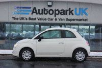 USED 2012 62 FIAT 500 1.2 POP 3d 69 BHP LOW DEPOSIT OR NO DEPOSIT FINANCE AVAILABLE