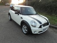 USED 2008 58 MINI HATCH ONE 1.4 Petrol 3 door