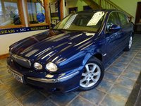 USED 2004 54 JAGUAR X-TYPE 2.0 SE 4d 130 BHP CREAM LEATHER, CRUISE CONTROL!
