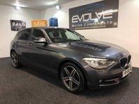 USED 2013 13 BMW 1 SERIES 1.6 114D SPORT 5d 94 BHP FULL SERVICE HISTORY! NEW MOT!