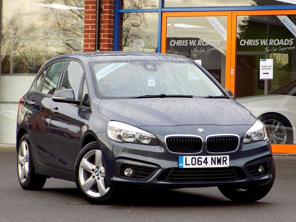 "USED 2015 64 BMW 2 SERIES ACTIVE TOURER 2.0 218d SE 5d * Bluetooth+DAB+17"" Alloys *"