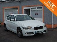 USED 2013 63 BMW 1 SERIES 2.0 116D SPORT 5d 114 BHP BMW I Drive, Bluetooth, CD Multimedia