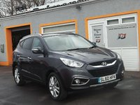 USED 2010 60 HYUNDAI IX35 2.0 PREMIUM CRDI 4WD 5d 134 BHP Bluetooth, Pan Roof, Front and Rear PDC, Cruise Control