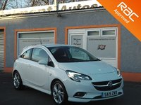 USED 2015 15 VAUXHALL CORSA 1.4 SRI VX-LINE S/S 3d 99 BHP Bluetooth, Touchscreen, Cruise Control, 2 Service Stamps