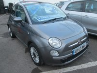 2012 FIAT 500 1.2 LOUNGE 3d 69 BHP £4495.00