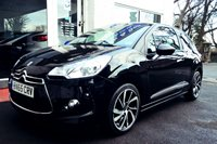 USED 2015 65 DS DS 3 1.6 BLUEHDI DSTYLE S/S 3d 98 BHP STUNNING CITROEN DS3 IN PEARL BLACK