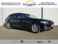 USED 2014 64 BMW 5 SERIES 2.0 520D SE TOURING 5d AUTO 188 BHP One Owner Full BMW History NAV Buy Now, Pay Later Finance!