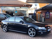 USED 2014 64 AUDI A4 2.0TDI S Tronic Quattro S LINE BLACK EDITION  174 BHP Free MOT for Life