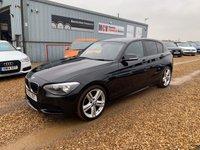 2013 BMW 1 SERIES 2.0 116D M SPORT 5d AUTO 114 BHP £11490.00