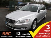 USED 2016 65 VOLVO V70 2.0 D4 SE LUX 5d AUTO 178 BHP Leather Heated Seats Lux AUTO