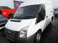 USED 2012 62 FORD TRANSIT 2.2 260 1d 99 BHP