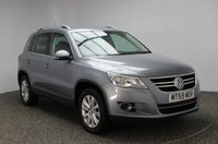 USED 2009 59 VOLKSWAGEN TIGUAN 2.0 SE TDI 4MOTION 5DR 138 BHP FULL SERVICE HISTORY FULL SERVICE HSITORY + PARKING SENSOR + AIR CONDITIONING + RADIO/CD + ELECTRIC WINDOWS + 17 INCH ALLOY WHEELS