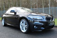 USED 2014 14 BMW 2 SERIES 2.0 218D M SPORT 2d 141 BHP A STUNNING ONE OWNER CAR WITH FULL BMW SERVICE HISTORY!!!