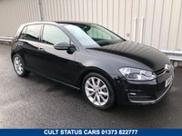 2013 VOLKSWAGEN GOLF 1.4 GT TSI BLUEMOTION TECH DSG AUTO 138 BHP PETROL £10495.00