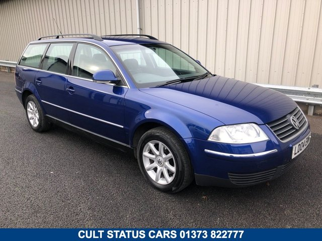 2004 04 VOLKSWAGEN PASSAT B5 1.9 TDI PD 130 BHP AUTOMATIC ESTATE HIGHLINE
