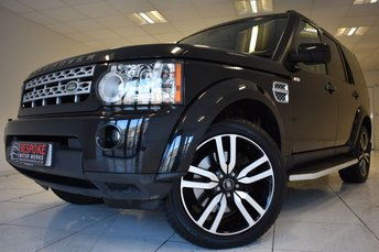 2013 LAND ROVER DISCOVERY 4 3.0 SDV6 COMMERCIAL 255 BHP AUTOMATIC £22495.00