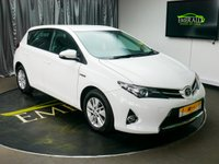 USED 2014 64 TOYOTA AURIS 1.8 ICON VVT-I 5d AUTO 99 BHP £0 DEPOSIT FINANCE AVAILABLE, AIR CONDITIONING, AUX INPUT, BLUETOOTH CONNECTIVITY, CLIMATE CONTROL, DAB RADIO, DAYTIME RUNNING LIGHTS, ECO MODE, PARKING SENSORS, STEERING WHEEL CONTROLS, TRIP COMPUTER, USB CONNECTION