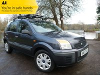 2007 FORD FUSION 1.4 STYLE CLIMATE 5d 80 BHP £2400.00