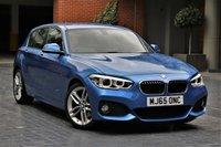 2015 BMW 1 SERIES 2.0 120D M SPORT 5d AUTO 188 BHP £11990.00